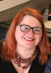 Photo of co-Author Elonka Dunin 2019