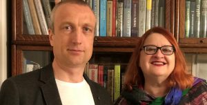 Klaus Schmeh and Elonka Dunin, 2020